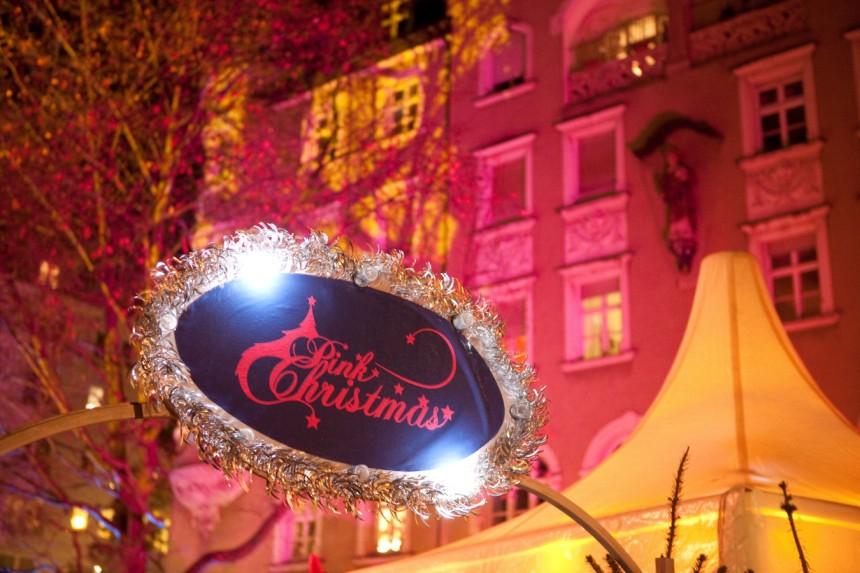 pink-christmas-stephansplatz sueddeutsche.de
