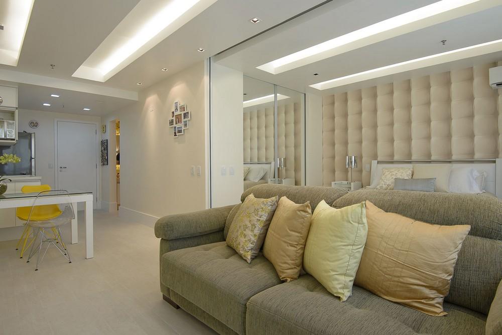 Salon pocos metros - espacio abierto