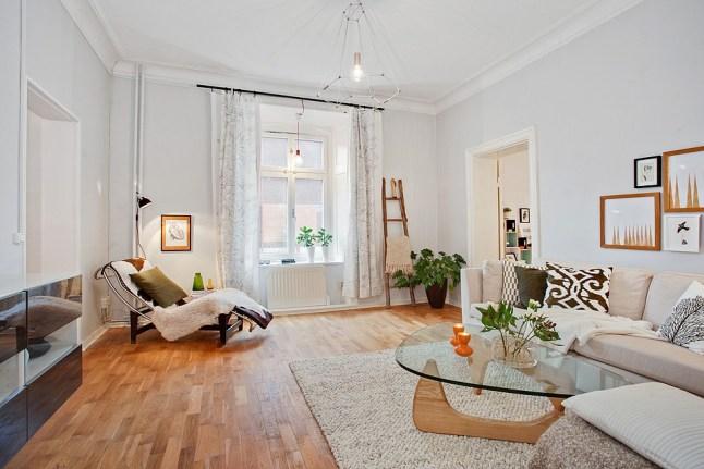 Acogedor apartamento en gotemburgo for Mueble salon suspendido