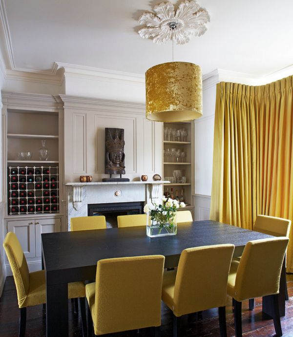 decoist-No-shortage-of-golden-surfaces-in-this-dining-space