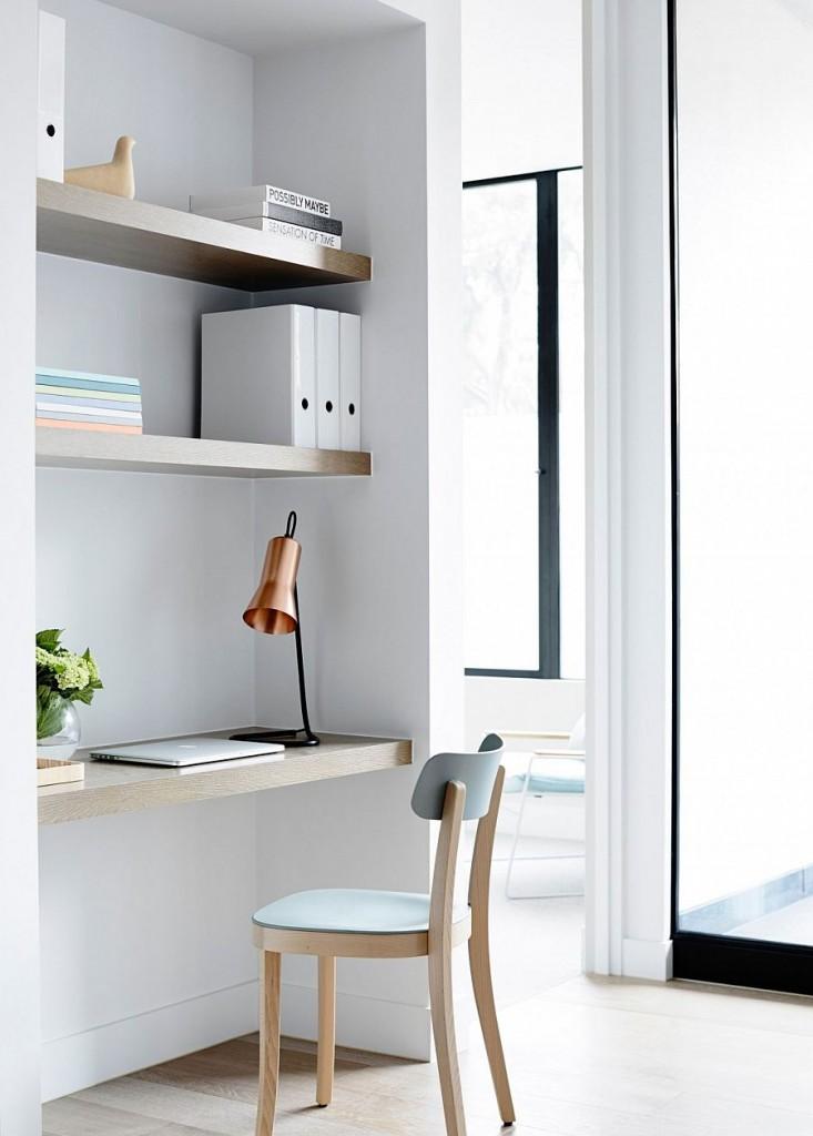 Apartamento en tonos pastel Melbourne - Espacio de trabajo
