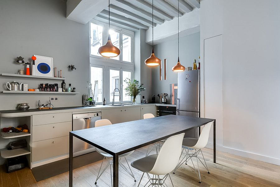 Apartamento moderno y renovado en Paris - cocina