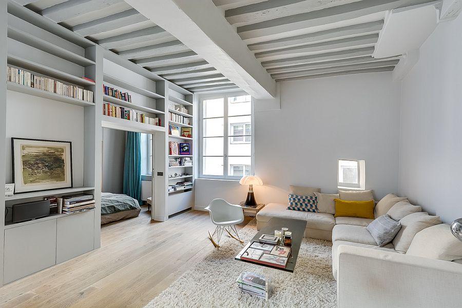 Apartamento moderno y renovado en Paris - salon