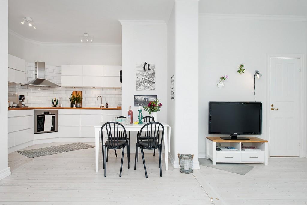 Apartamento Nordico - Comunicando espacios