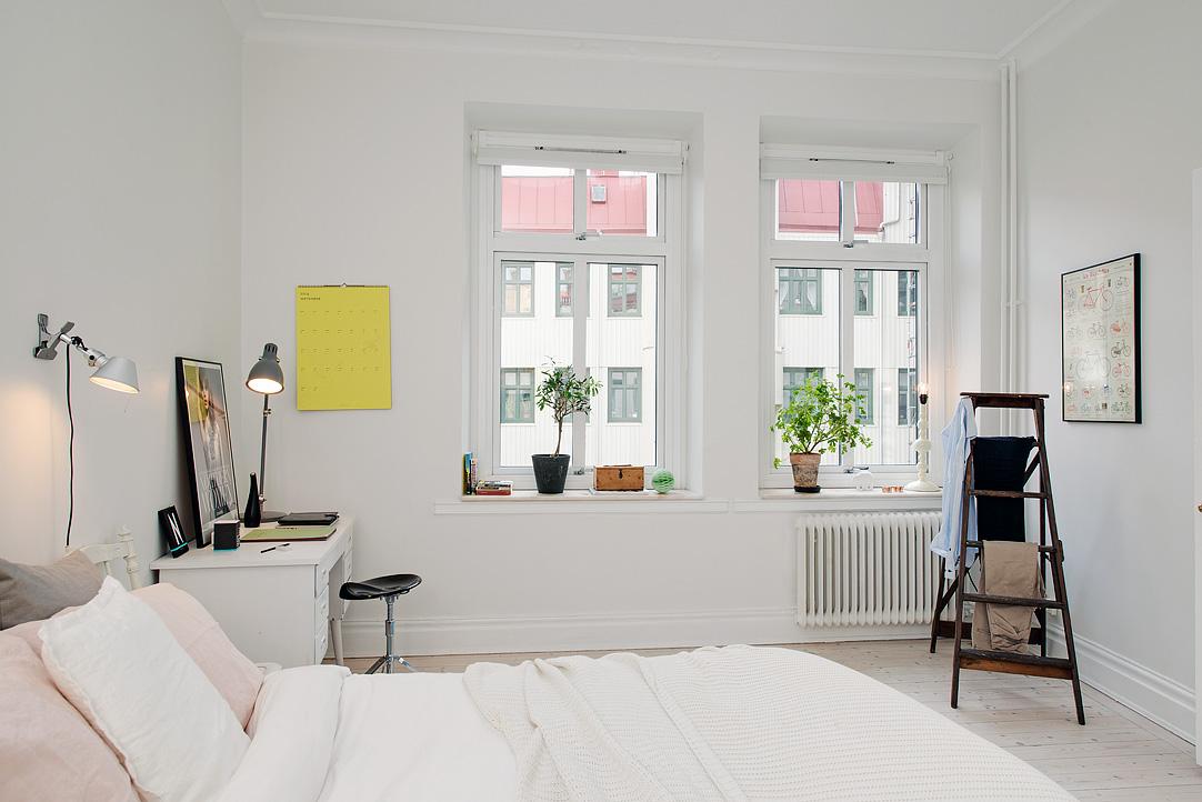 Apartamento n rdico menos es m s - Escritorio dormitorio ...