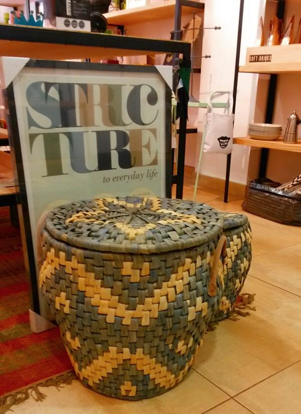 Deco tienda - cestas house doctor
