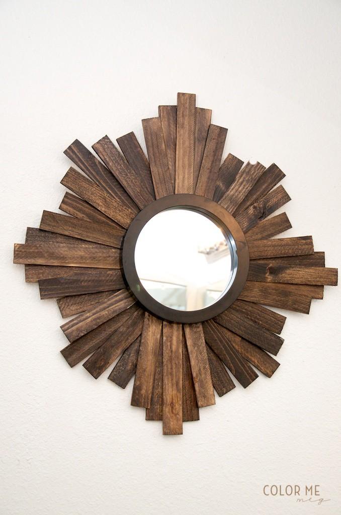 Espejito espejito decoramos con espejos de sol for Espejos de madera redondos