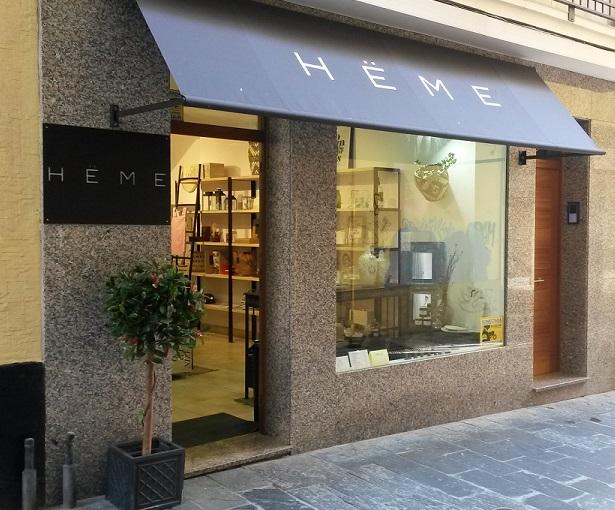 Heme - Fachada tienda