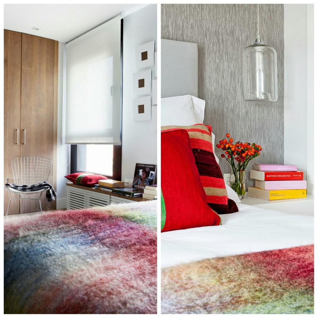 Piso elegante y sofisticado Detalles Dormitorio