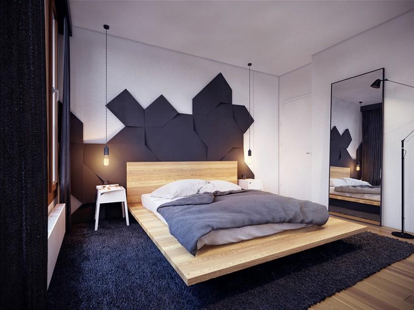 apartamento urbano en Varsovia dormitorio 3