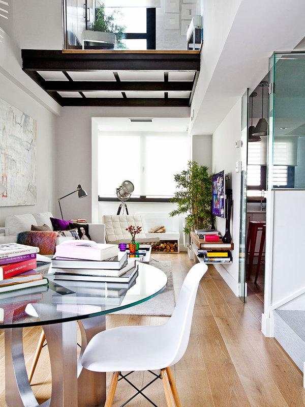 piso elegante sofisticado y femenino salon comedor