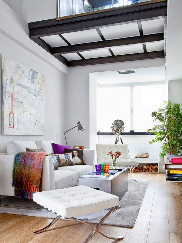 piso elegante sofisticado y femenino