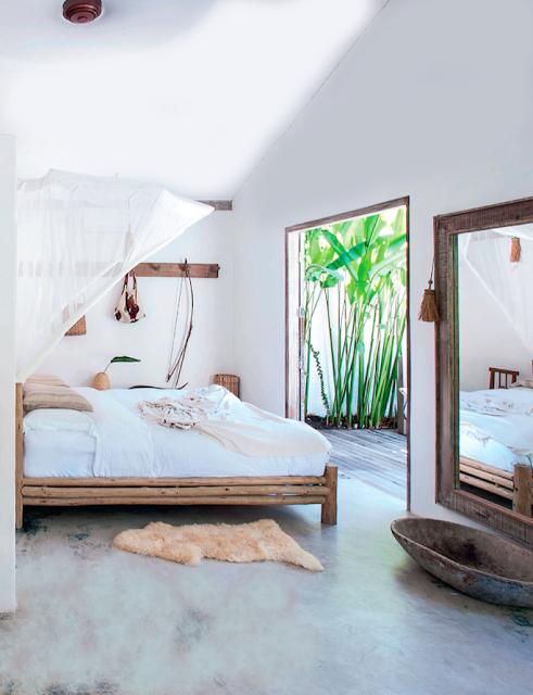 Hormigon-cemento pulido dormitorio