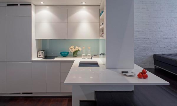 Reforma loft NYC - despues cocina