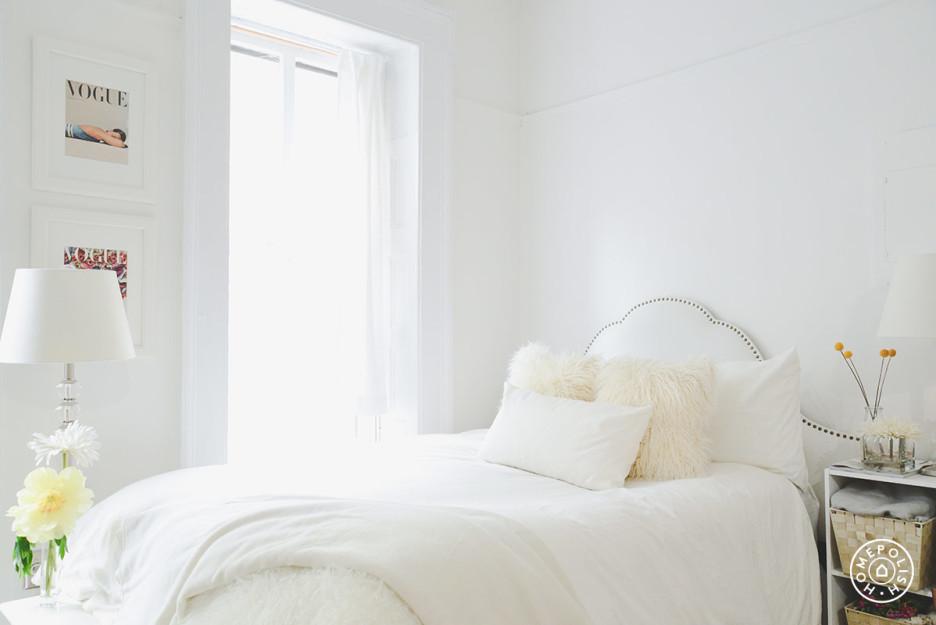 Estudio glam en NYC - dormitorio