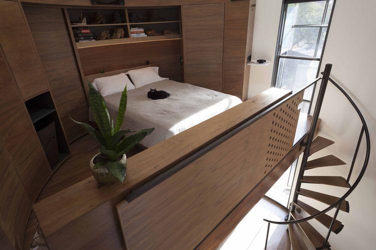 Vivir en un silo - dormitorio