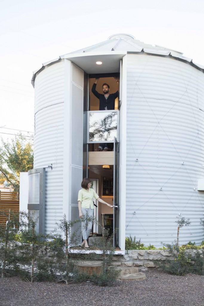 Vivir en un silo - exterior 2