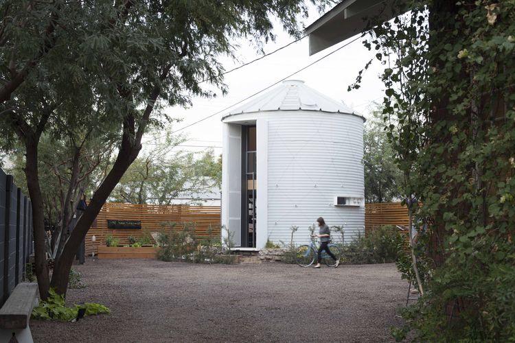 Vivir en un silo - exterior