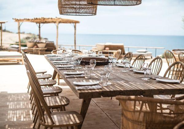 Hotel Scorpios Mykonos - comedor al aire libre 2