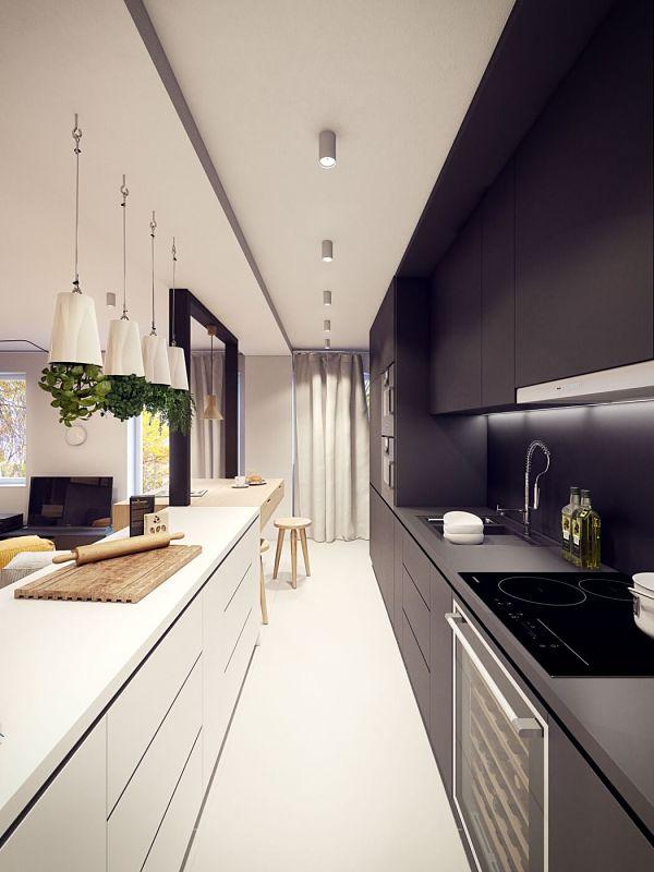 Moderno en Varsovia - cocina 3