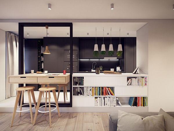 Moderno en Varsovia - cocina