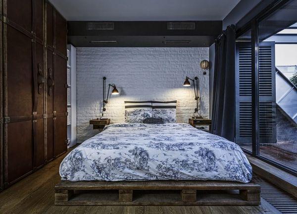 loft masculino - dormitorio