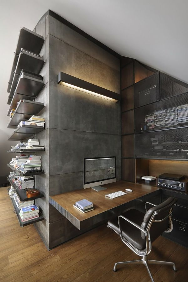 loft masculino - workspace - despacho