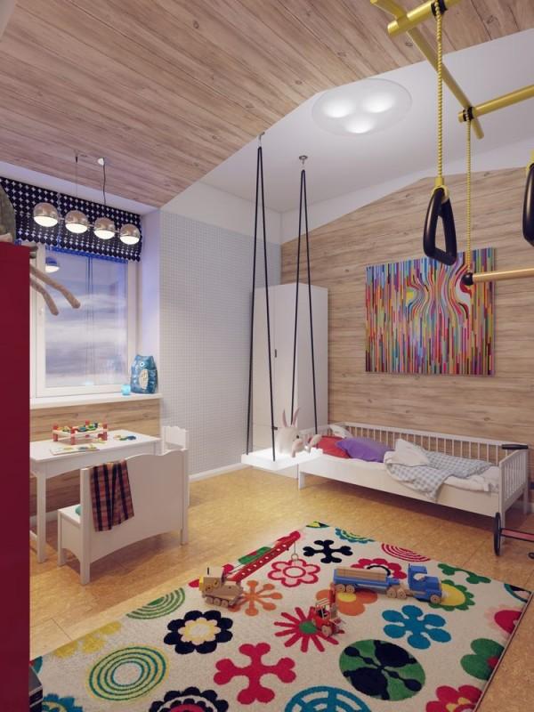 Apartamento blanco - dormitorio infantil b