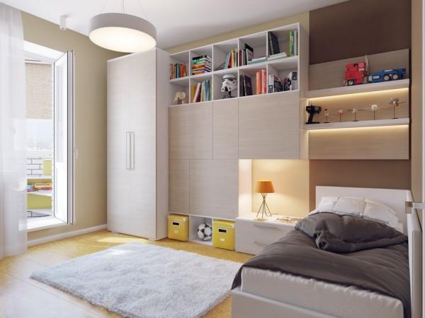 Apartamento blanco - dormitorio infantil2