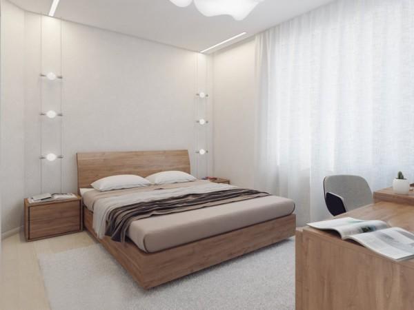 Apartamento blanco - dormitorio principal