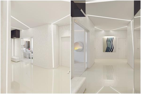 Apartamento blanco - hall