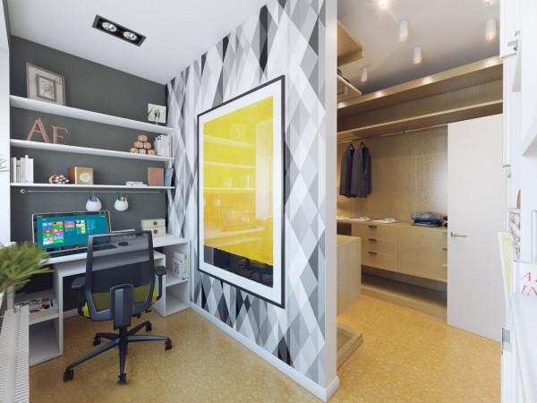 Apartamento blanco - workspace