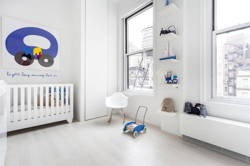 Apartamento en Flatiron - dormitorio infantil