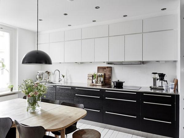 Blanco y negro - Cocina2