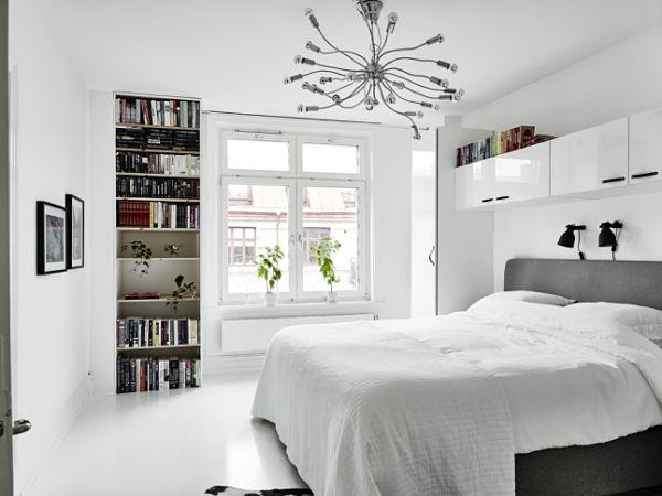 Blanco y negro - Dormitorio