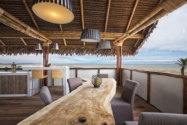 Casa Playa del Carmen - comedor outdoor