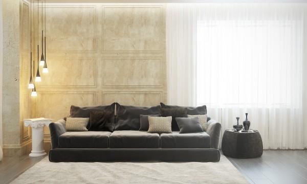 Contemporaneo y clasico - sofa