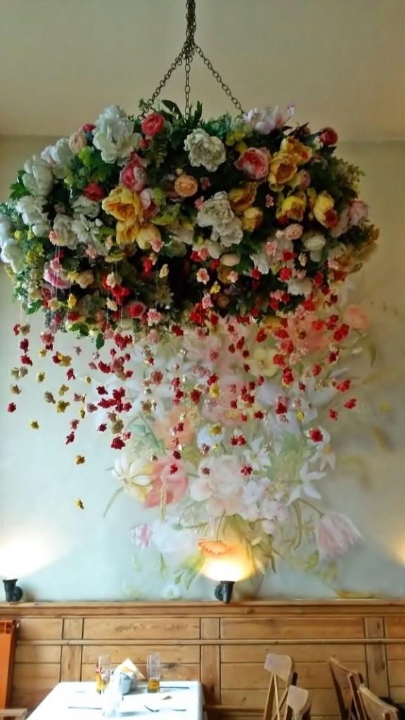 Cracovia - Lampara flores de Wessele