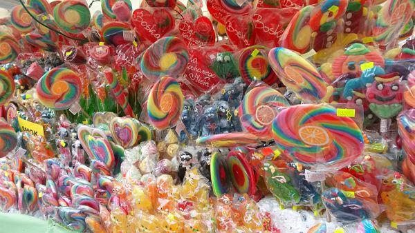Cracovia - puesto caramelos