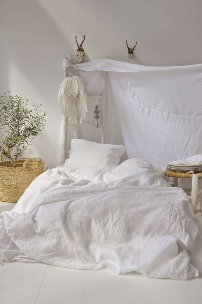 Dormitorio verano bohemio