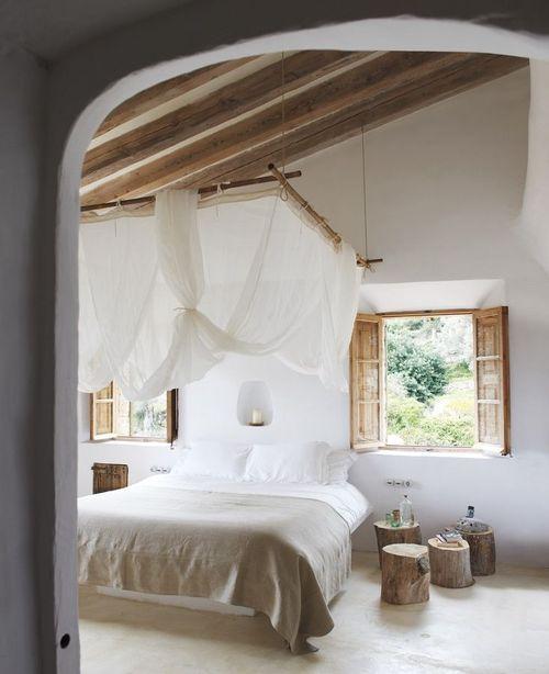 Dormitorio verano con buen feng shui