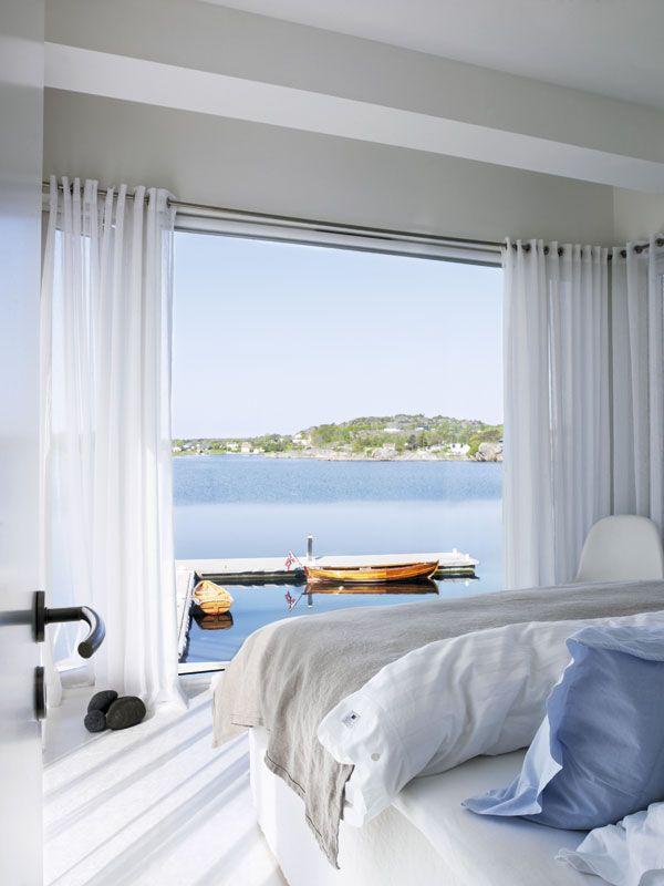 Dormitorio verano con vistas