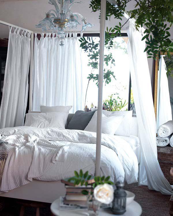 Dormitorio verano fresco