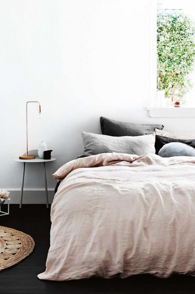 Dormitorio verano tonos pastel