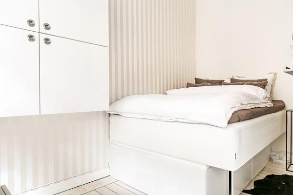 Miniapartamento Estocolmo - Dormitorio