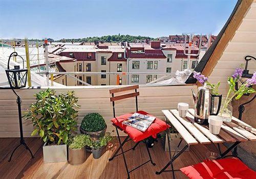 Terrazas y balcones urbanos con encanto - Terrazas pequenas con encanto ...
