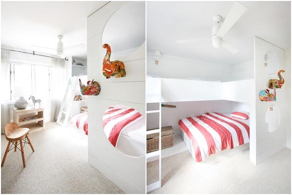 casa playa - dormitorio infantil