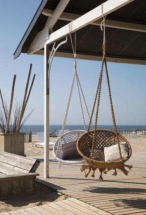 columpios porche playa