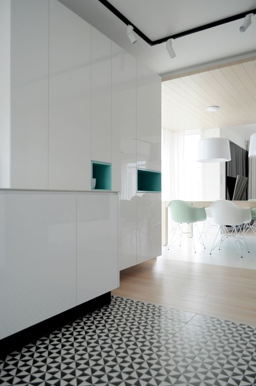 Calido minimalismo - cocina detalle