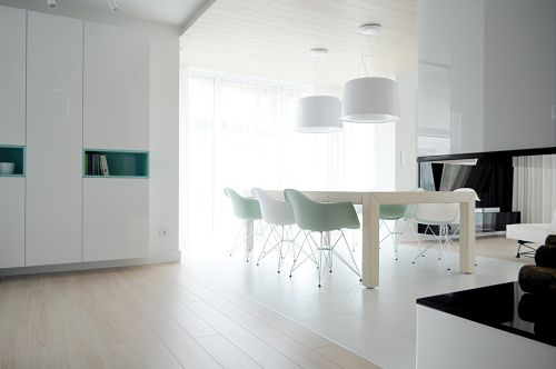 Calido minimalismo - comedor2